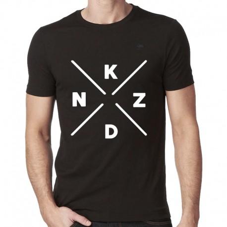 T-Shirt Black Gizah hommes