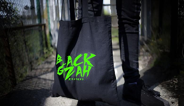 Black Gizah tote bag